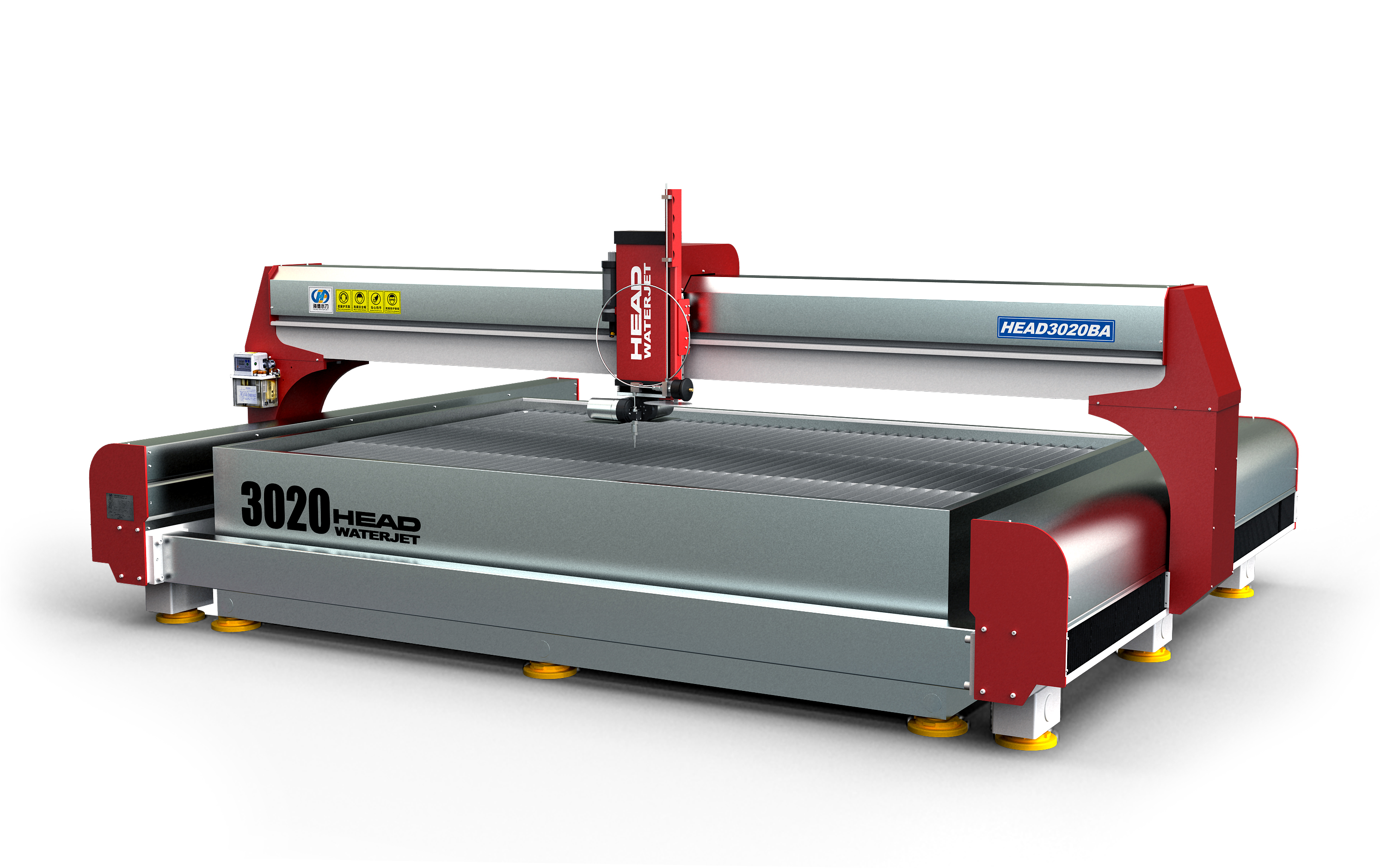 New Type Waterjet Cutting Machine for Stone Ceramic Marbel Floor