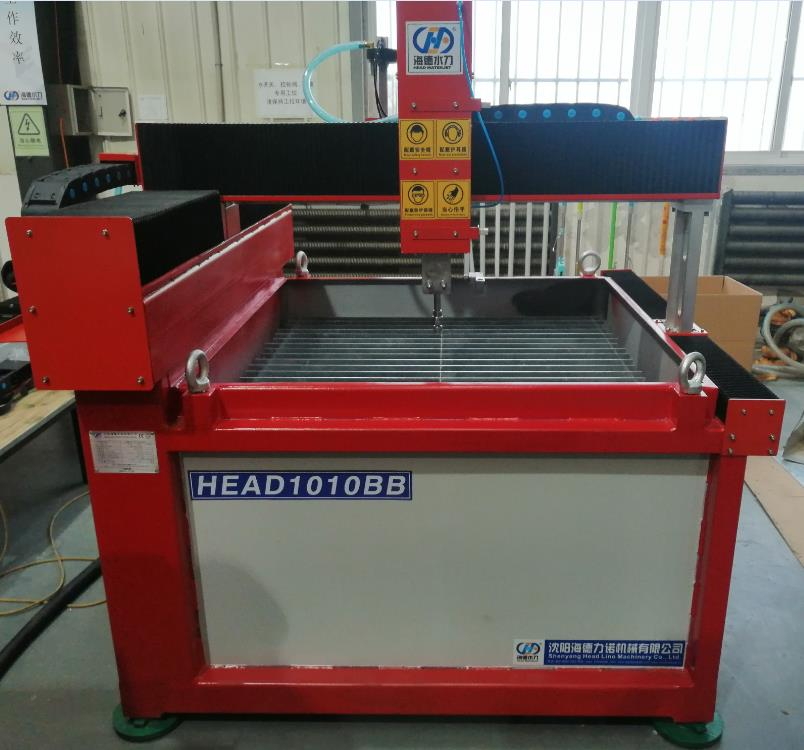 Super Low Price HEAD MINI 1000*1000mm Metal Glass Ceramic WaterJet Cutting Machine For University Experiments